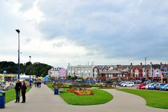 Barry Island södra Wales, UK arkivfoto