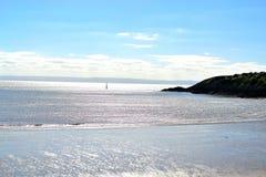 Barry Island, Zuid-Wales, het UK stock afbeeldingen