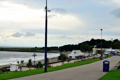 Barry Island, Zuid-Wales, het UK royalty-vrije stock foto
