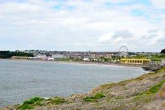 Barry Island, Zuid-Wales, het UK royalty-vrije stock fotografie