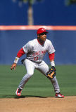 Barry Larkin Of The Cincinnati Reds stock fotografie