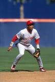 Barry Larkin Of The Cincinnati Reds Photographie stock