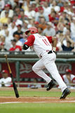 Barry Larkin Of The Cincinnati Reds Fotografia Stock