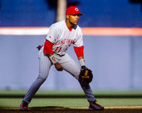 Barry Larkin Cincinnati Reds Royalty Free Stock Photo