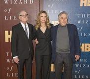 Barry Levinson, Michelle Pfeiffer και Robert DeNiro Στοκ Εικόνα