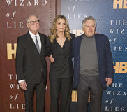 Barry Levinson, Michelle Pfeiffer and Robert DeNiro Stock Image