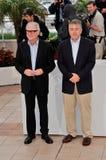 Barry Levinson, Roberto De Niro fotos de archivo libres de regalías