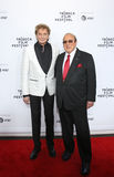 Barry Manilow και Clive Νταίηβις Στοκ φωτογραφία με δικαίωμα ελεύθερης χρήσης