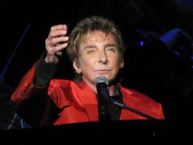Barry Manilow royaltyfri fotografi