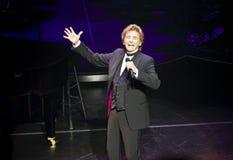 Barry Manilow auf Broadway stockfotografie