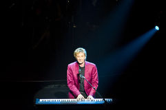 Barry Manilow on Broadway Royalty Free Stock Photos
