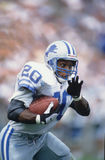 Barry Sanders Detroit Lions immagine stock