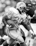 Barry Sanders. Detroit Lions RB Barry Sanders, #20. (Image taken from B&W negative stock photos