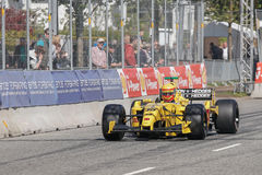 Barry Walker in a Jordan EJ12 formula one Stock Photos