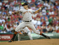 barry zito royaltyfri foto