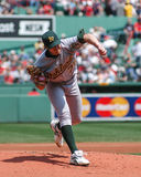 Barry Zito, Oakland a Fotografia de Stock