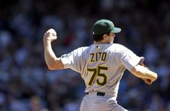 Barry Zito Oakland a stockfotografie