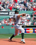 Barry Zito, Oakland A's pitcher Stock Image