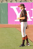 Barry Zito warming up before game Royalty Free Stock Image