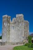 Barryscourt Castle. In Ireland in summer royalty free stock photo