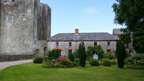 Barryscourt Castle County Cork Ireland. Barryscourt Castle is a castle located in eastern County Cork in southern Ireland, close to the town of Carrigtwohill Royalty Free Stock Photos