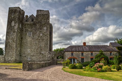 Barryscourt Castle HDR Royalty Free Stock Images