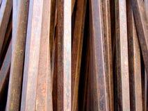 Bars. Rusty metal bars Stock Photos