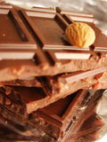 Bars of chocolate Stock Photography