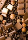 Bars of chocolate Royalty Free Stock Image