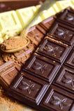 Bars of chocolate. Stock Image