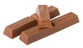 bars choklad Royaltyfria Foton