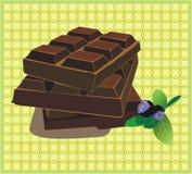 bars choklad Royaltyfri Bild