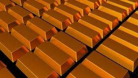 bars d'or fins illustration stock