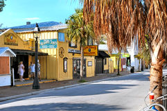 Bars dans Key West la Floride Image libre de droits