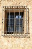 Bars de fer sur l'hublot Image libre de droits