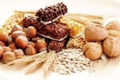 Bars de granola images libres de droits