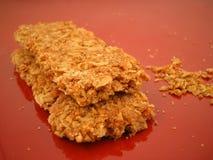 Bars de granola Photographie stock libre de droits