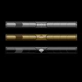 Bars de navigation élégants illustration stock