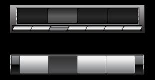 Bars de navigation intelligents Image stock