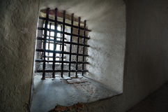 Bars de prison photo stock
