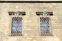 bars fönster Royaltyfri Bild