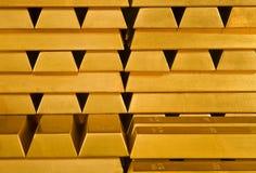 bars guld royaltyfri bild