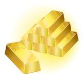 bars guld Arkivfoto