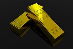 bars guld Fotografering för Bildbyråer