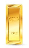 bars guld- Royaltyfria Bilder