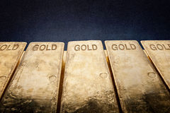 bars guld Arkivbild