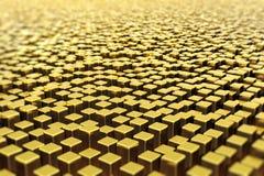 bars guld- yttersida Arkivfoto