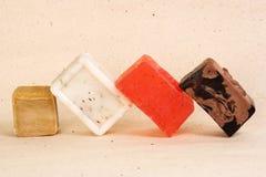 bars handgjord tvål Arkivbilder
