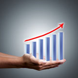 Finance chart Royalty Free Stock Image