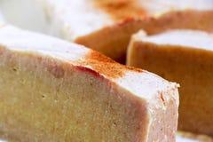 Bars of natural organic soap Stock Image